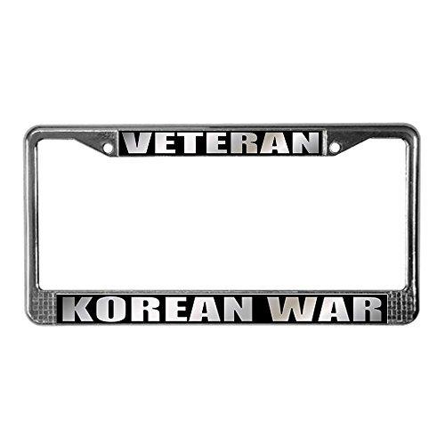 CafePress Pride Korean War Veteran License Plate Frame License Frame - by CafePress