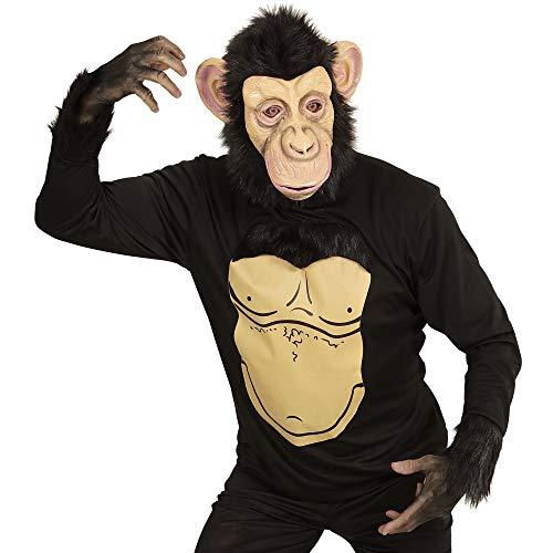 Widmann 74567 Erwachsenenkostüm Schimpanse, Herren, -
