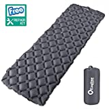 Best Air Mattress For Campings - Exqline Inflatable Sleeping Mat Camping Sleeping Pad Review
