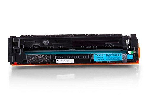 002 Cyan Toner-kassette (1x YOUTONER kompatibel für Canon I-Sensys LBP-610 Series LBP-611 Cn LBP-612 Cdw LBP-613 Cdw [045H / 1245C002] - Cyan / Blau - 2.200 Seiten)