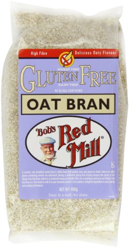 Bob's Red Mill Pure Oat Bran Gluten Free 400 g (Pack of 4) Test