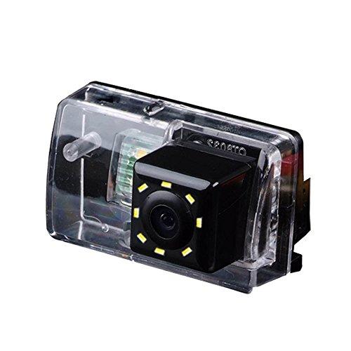 Dynavsal Einparkhilfe, Kamera für Nummerschildbeleuchtung, Kennzeichenbeleuchtung Farb Rückfahrkamera für Peugeot 206/207 /306/307 /308/406/ 407/5008 SM Sedan