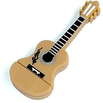 Guitarra 32 GB – Guitar - Memoria Almacenamiento de Datos – USB Flash Pen Drive Memory