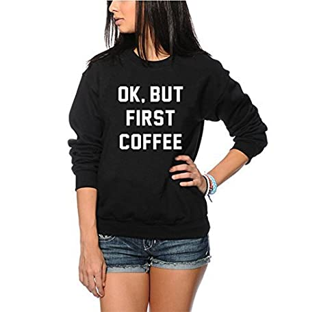 TeeIsland OK But First Coffee T Shirt