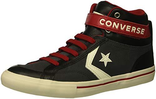 Converse Unisex-Kinder PRO Blaze Strap Sneakers, Schwarz (Almost Black/Egret/Turtledove 049), 35 EU Chuck Taylor All Star 3 Strap