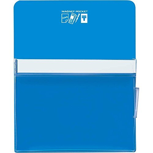 Kokuyo White Board Magnet Pocket Approximately 205 Sheets A4 Paper Blue Mac - 500 NB Japan