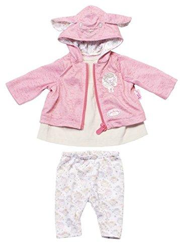 Zapf Creation 794937 - Baby Annabell Kleidung Rosa Jacke mit Ohren