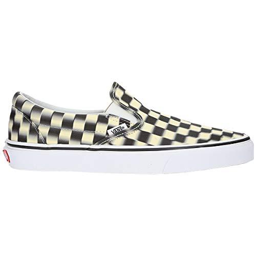 Vans Classic Slip ON VJM Blur Check Pack VN0A38F7VJM1 - Schuhe Herren White Slip-on Vans