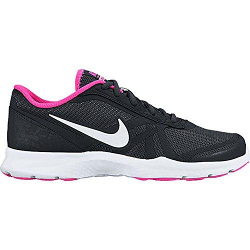Nike W Core Motion Tr 2 Mesh, Chaussures de Gymnastique Femme, Talla Negro (Black / White-Pink Blast)