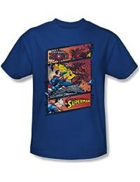Superman - Vs Zod pour hommes T-shirt Dans royale