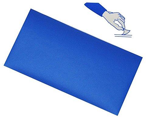 alles-meine.de GmbH selbstklebender Reparatur Aufkleber Flicken - Nylon blau wasserabweisend -...