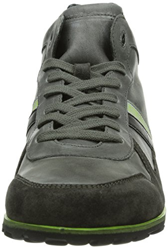 Bikkembergs 660270, Baskets hautes homme Gris - Gris