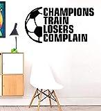 stickers muraux enfants spiderman Les champions forment les perdants se plaignent du ballon de foot...