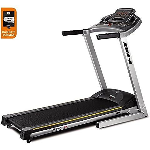 BH Fitness i.PIONEER DUAL WG6481 tapis roulant pieghevole basico con tecnologia i.Concept compresa