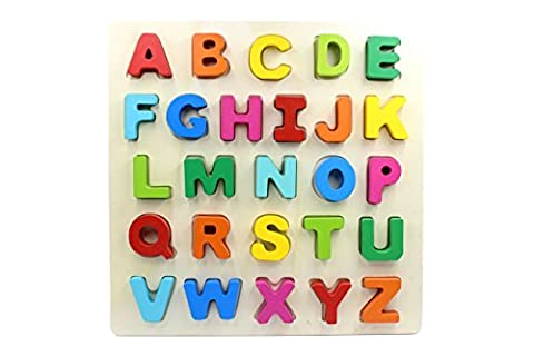 YouΞ Wooden Chunky Alphabet Puzzle