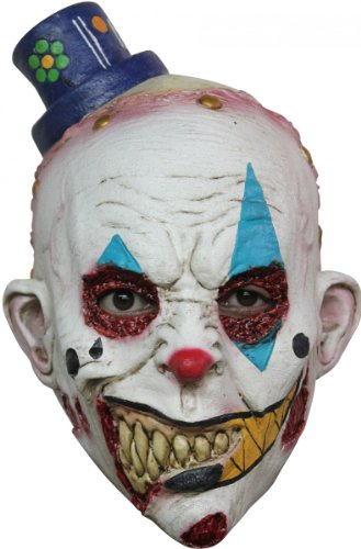 Generique - Clowns-Maske Halloween (Full Face Paint Halloween)
