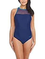 Zoggs Women's Mesh Crossback Swimsuit