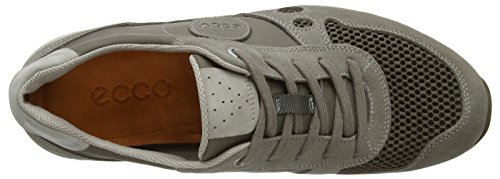 Ecco Chase 14, Chaussons Sneaker Homme Gris (Grey/Clay/Moon Rock)