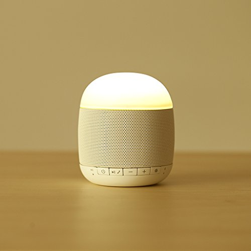 Emoi Smart Mini Bluetooth Lamp Speaker Led Music Mood Lamp Speaker With 6 Color Changing Led