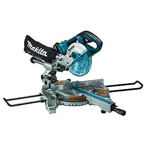 Makita DLS714Z 18 V Twin Brushless Slide Compound Mitre Saw - Blue