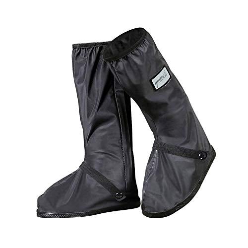 YMTECH Impermeabile Copriscarpe, Pioggia Stivali zip scarpe pioggia scarpe (44 - 45 EU)
