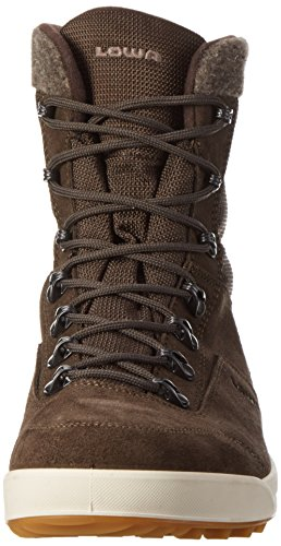 Lowa Kazan GTX Mid, Chaussures de Randonnée Hautes Homme, Gris Marron (dunkelbraun)