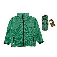 Target Dry Kids Mac in a Sac Packaway Jacket MIAS (Bottle Green, 2-4yrs)