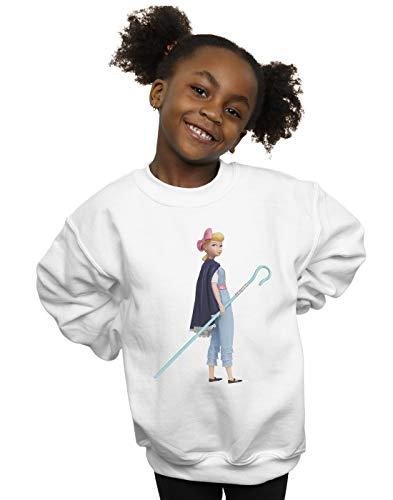 Disney Mädchen Toy Story 4 Little BO Peep Sweatshirt Weiß 3-4 Years