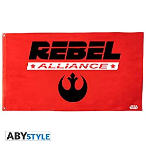 ABYstyle Abysse Corp_ABYDCT029 Star Wars - Cinturones de Bandera (70 x 120)