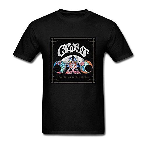 Men's Crobot American Hard Rock Band Logo T-Shirt S ColorName Short Sleeve Medium