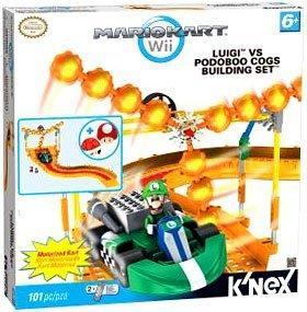 Mario Kart Wii KNEX Exclusive Building Set #38438 Luigi vs. Podoboo Cogs (Luigi Kart Knex)