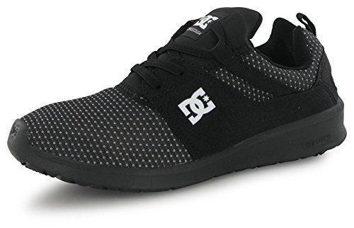 DC Shoes Heathrow Se, Sneakers Basses Garçon, Noir/Brillant