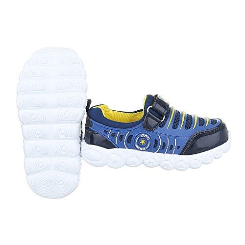 Ital-Design - Low-top Bambino Blau