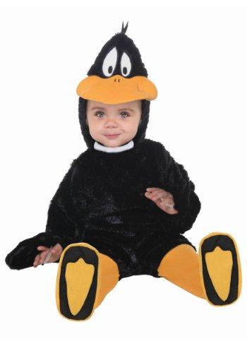 Daffy Duck Kostüm für Baby (Baby Daffy Duck)