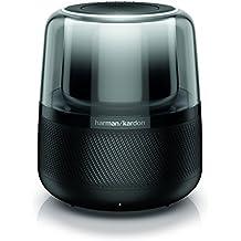 Harman Kardon Allure - Diffusore wireless a controllo vocale (integrato Amazon Alexa), colore nero