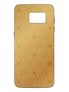 Samsung S7 Cover - Abstract Floral Pattern - Designer Printed Hard Shell Case