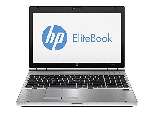 NOTEBOOK HP 8570P i7-3520 / 4GB / SSD 128GB / DVDRW / LCD 15,6in / WINDOWS 7-10 PROF (Ricondizionato) )