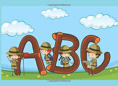 ABC: English Alphabet for Boys with easy exercises. Letters on Color Background. Best for kids ages 0-5 (Dr Seuss Handwerk)
