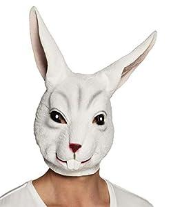 Boland 00136 - Máscara de Conejo, Color Blanco
