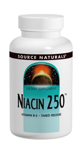 Source Naturals Vitamine B6 (Niacin 250mg Timed Release - 100 - Tablet)