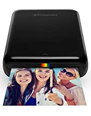 Polaroid ZIP Mobile Printer w/ZINK Zero Ink Printing Technology for iOS and Android (Black)