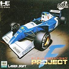 PC Engine CD - F-1 Team Simulation: Project F [VERSION JAPONESA]