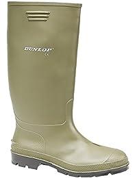 Dunlop Bottes en caoutchouc 380 BV DU380BV Bottes Hommes - Vert, 47 EU