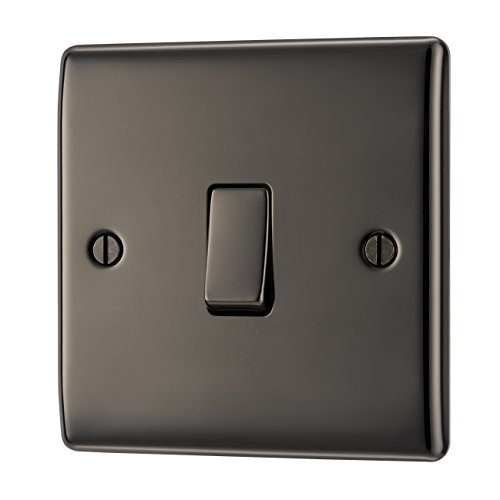 Nexus RAISED BLACK NICKEL1G 2WAY SWITCH1 - interruptores de luz