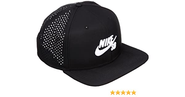 158b1b7a Nike Unisex's SB Performance Trucker Hat, Black/White, One Size:  Amazon.co.uk: Sports & Outdoors