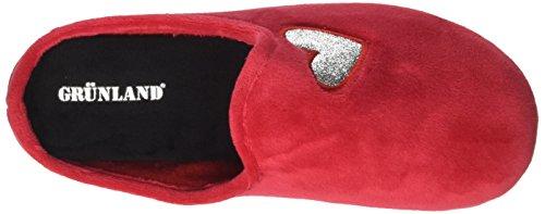 Grünland Damen Ci2205 Ohne Knöchelriemen Rot