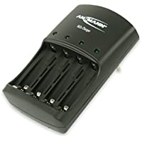 ANSMANN 1001-0013 Caricabatteria Nizn per Batterie Nichel-Zinco 1,6V Aaa/ Aa