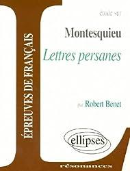 Montesquieu, Lettres persanes