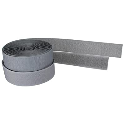 InLine® Kabelbinder, Klettverschluß Band, 3 Meter, 25mm, grau, 59935A von InLine® auf Lampenhans.de