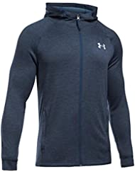 Under Armour Herren Tech Terry Fitted Fz Hoodie Oberteil